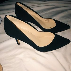 Marc Fisher Tuscany Pump - Black Suede